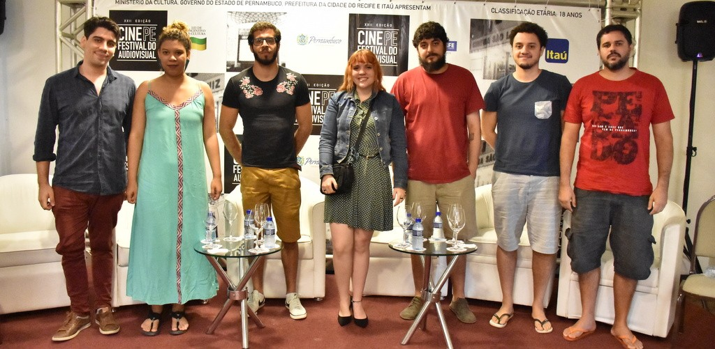 Jovens cineastas no Cine PE